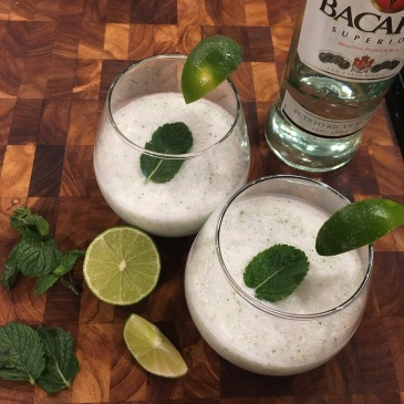 coconut mojitos