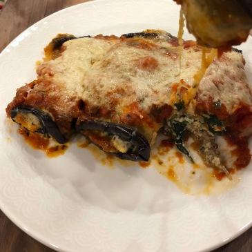 Healthy Eggplant Rollatini