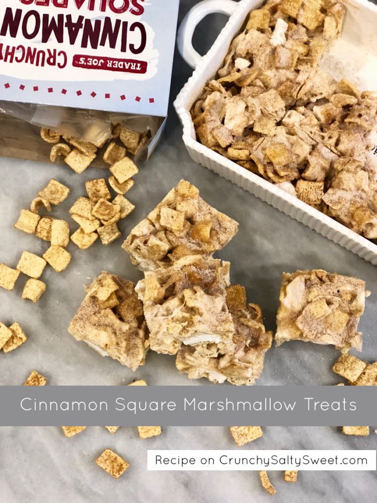 cinnamon square marshmallow treats