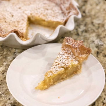 Citrus Chess Pie