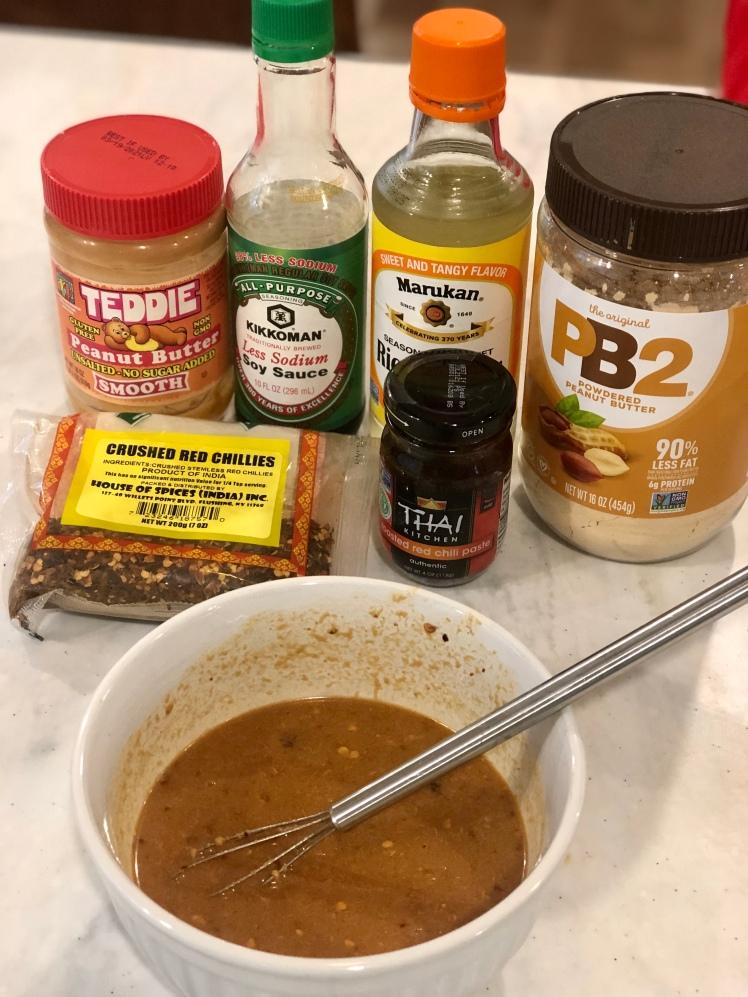 Easy peanut sauce