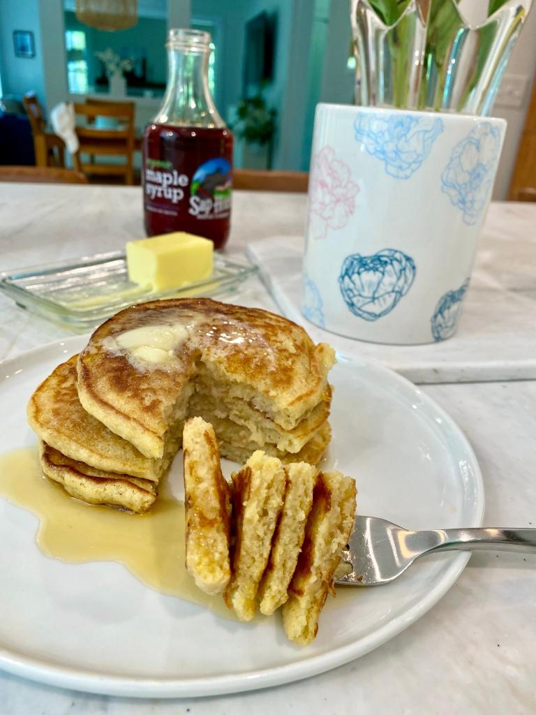 Masa pancakes (gluten-free)